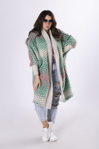 oversize'owy sweter ombre